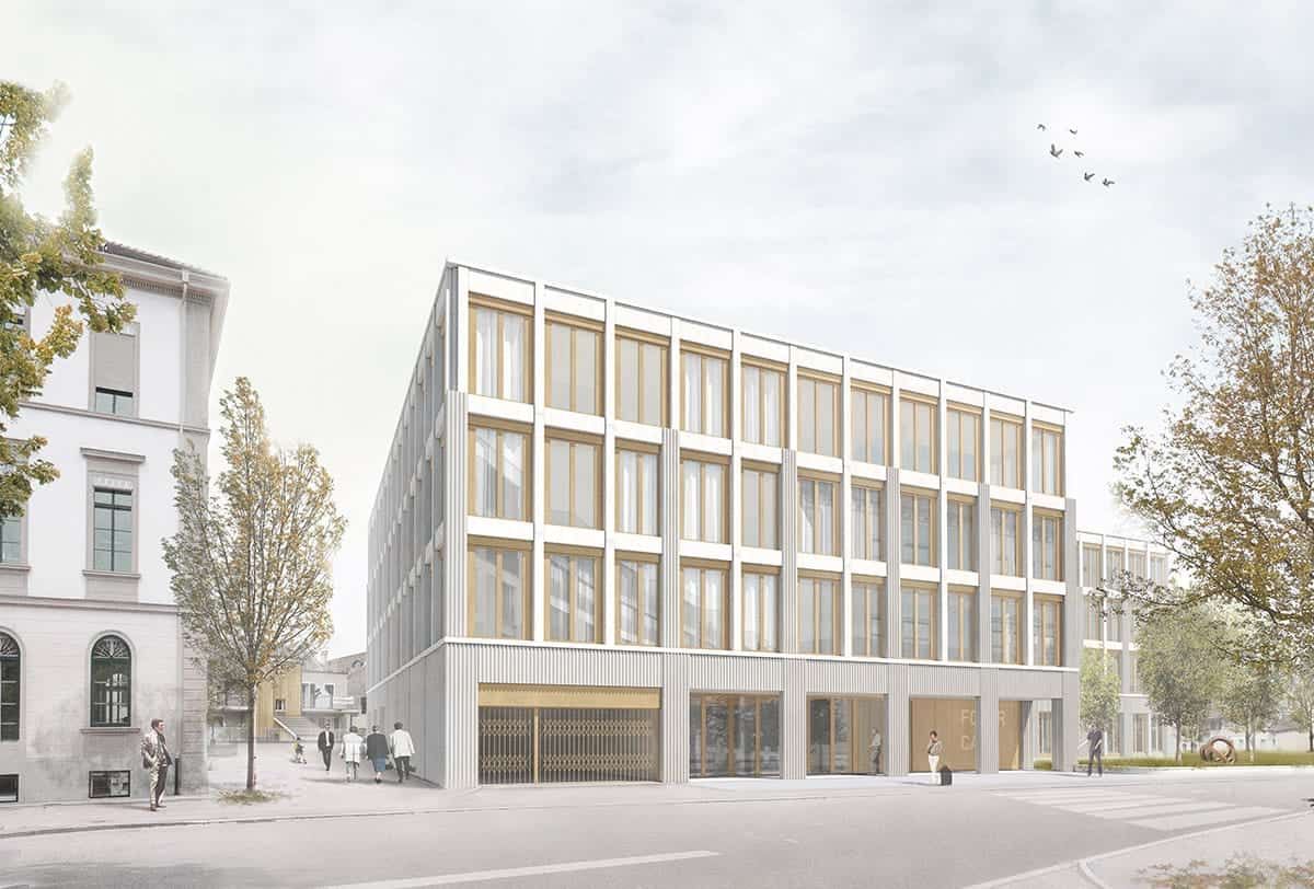 <b>083.</b> Ergänzungsbauten<br>Regierungsgebäude, Frauenfeld, 2016 – Projektwettbewerb