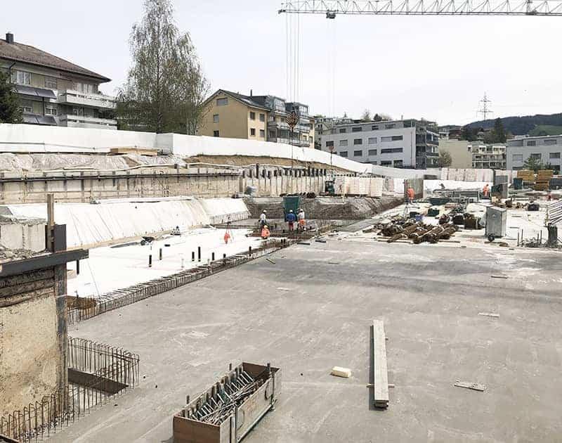 <b>086.</b> Wohnüberbauung<br>Eu, Menzingen, 2017 – Projektwettbewerb, 1. Rang