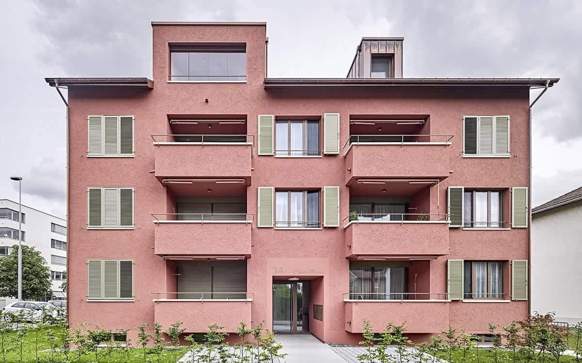 <b>082.</b> Wohnhaus<br>Gartenstadt, Zug, 2016–2019