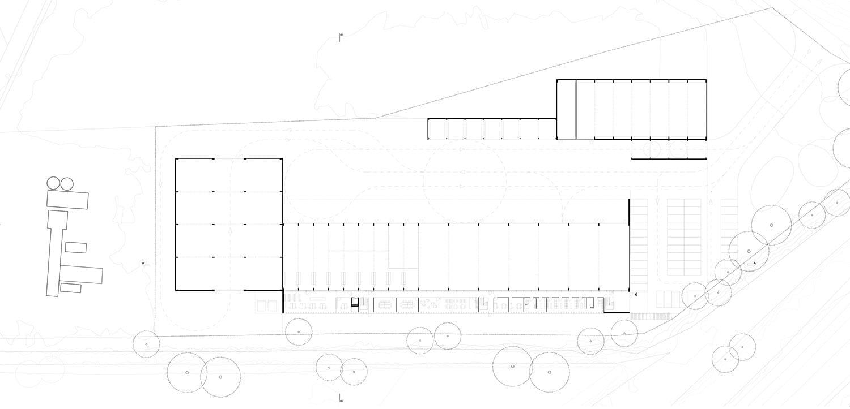 <b>065.</b> Neubau Werkhof und Stützpunkt für die N16<br>Loveresse, 2013 – Projektwettbewerb