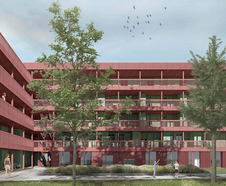 Genossenschaftlichen Wohnungsbau Oele, Steinhausen