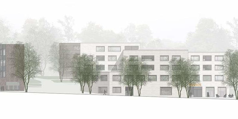 <b>075.</b> Zentrumsentwicklung<br>Hünenberg-Dorf, 2015 – Projektwettbewerb, 2. Rang