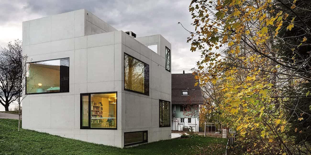 <b>049.</b> Wohn- und Atelierhaus<br>Mühlestrasse, Edlibach, 2010–2012